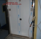 kabina za pranje kecelja