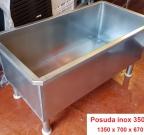 Posuda od inoxa 350 litara