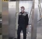 dezobarijera tunel automatska