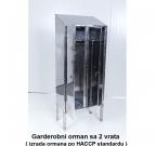 garderobni orman 2 vrata
