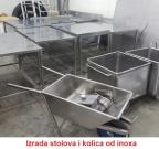 izrada stolova od inoxa