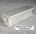 kalup za pizza šunku