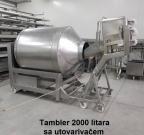 tambler 2000 lit sa utovarivačem