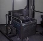 mobilna dizalica za kuter kolica