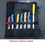 torba za noževe i masat