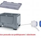 Box posuda -ventil-slavina