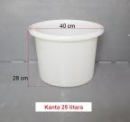 PVC kanta 25 litara