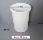 PVC kanta 50 litara