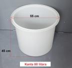 PVC kanta 80 litara